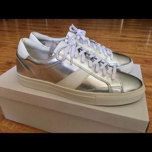 Steve Madden Men's Sneakers Silver / White Size 10